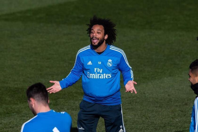 Marcelo, jugador del Real Madrid. EFE/Archivo
