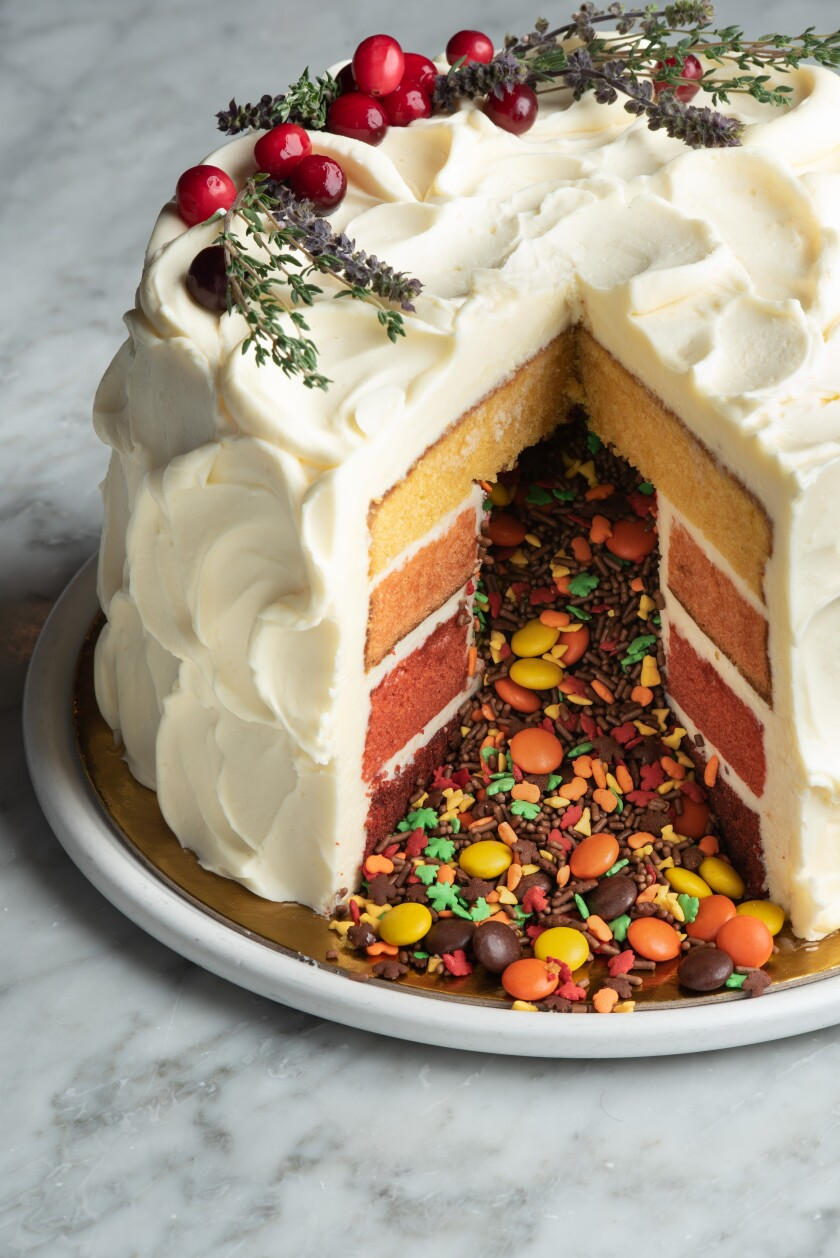 This is the Autumn Cake by Provisional Kitchen, Cafe & Mercantile