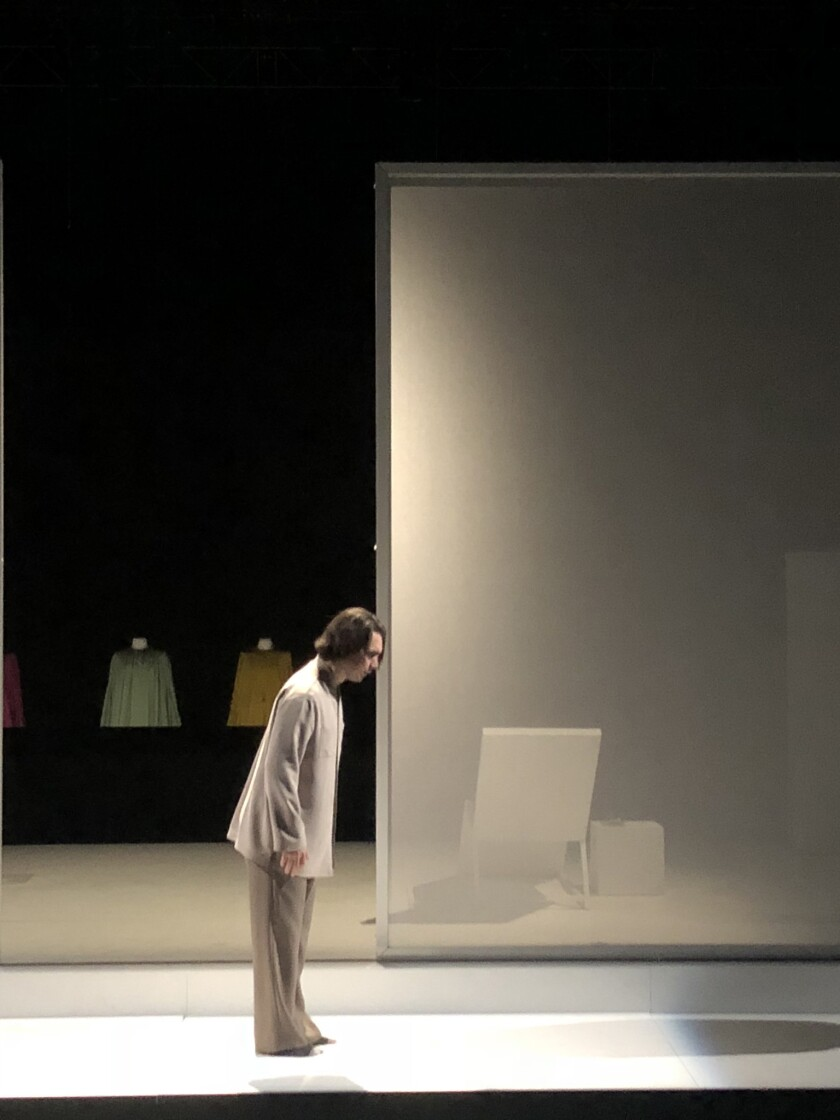 """""""Silence,"""" the first opera by film composer Alexandre Desplat, is in rehearsals leading up to its Fe"""