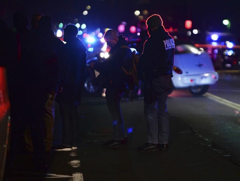 Detroit Police Officers Shot