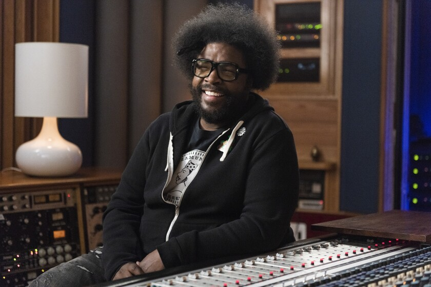 "Questlove in ""Hip Hop: The Songs That Shook America"""