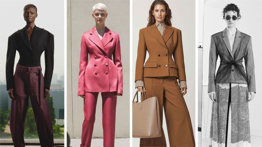 Resort 2019 Trend: Cinched Tailoring