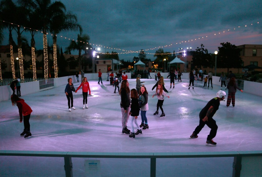 A photo of Liberty Station Ice Rink