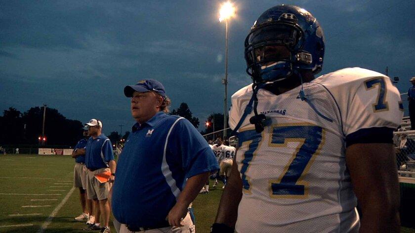 """Set against the backdrop of a high school football season, """"Undefeated,"""" following Bill Courtney's last season as a high school coach, won an Academy Award."""