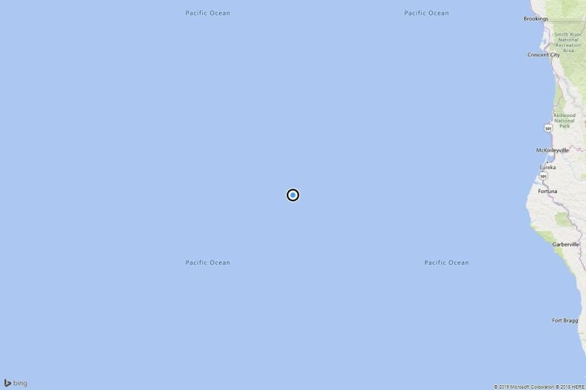 Earthquake: 3.7 quake strikes near Capetown, Calif.