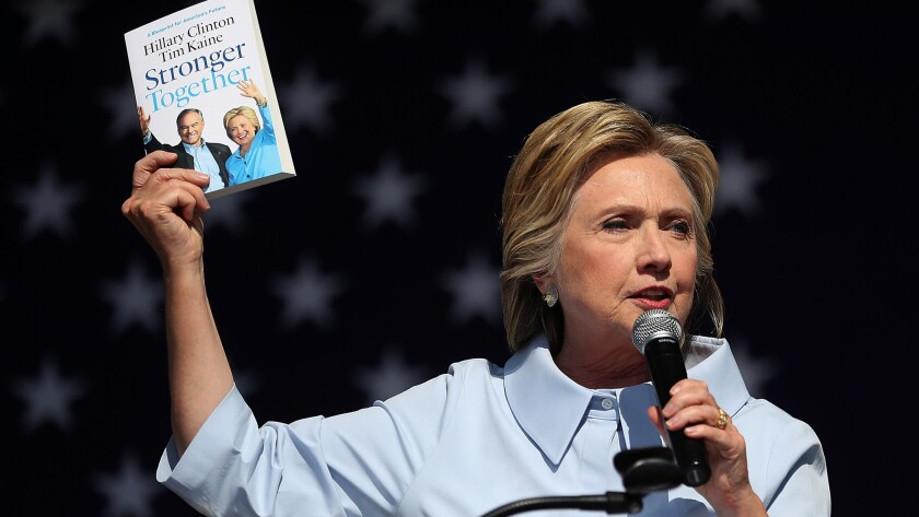 Hillary Clinton speaks in Cleveland