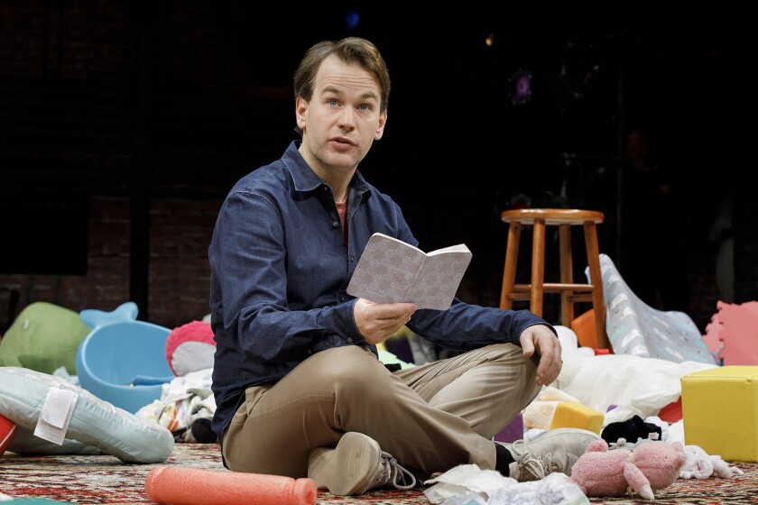 Mike Birbiglia's one-man Broadway show 'The New One' to debut on Netflix next month