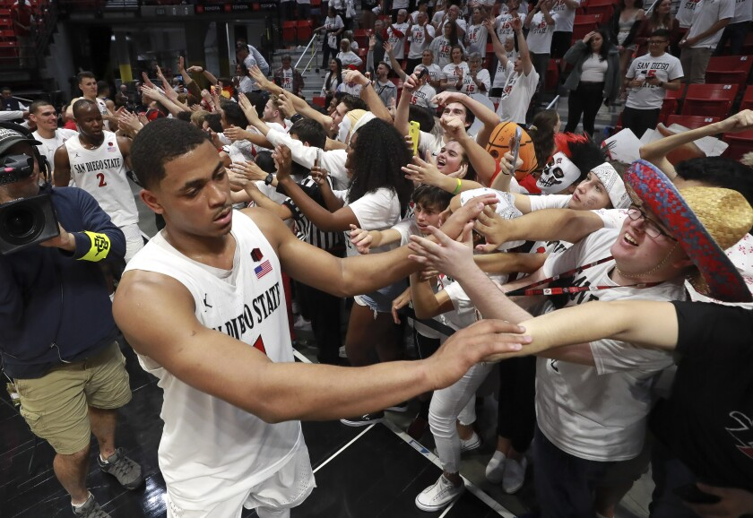 San Diego State, at 24-0, remains the No. 4 team in the country despite ranking first in the key NET metric utilized by the NCAA.