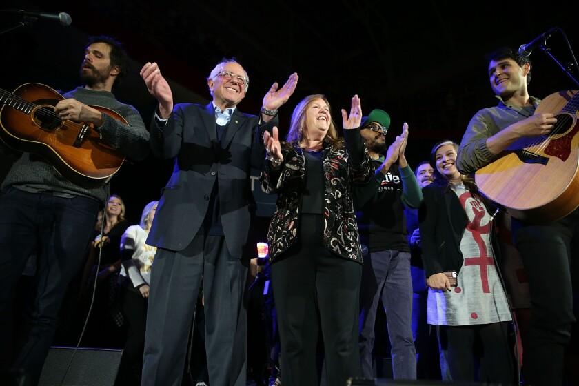 Bernie Sanders at University of Iowa