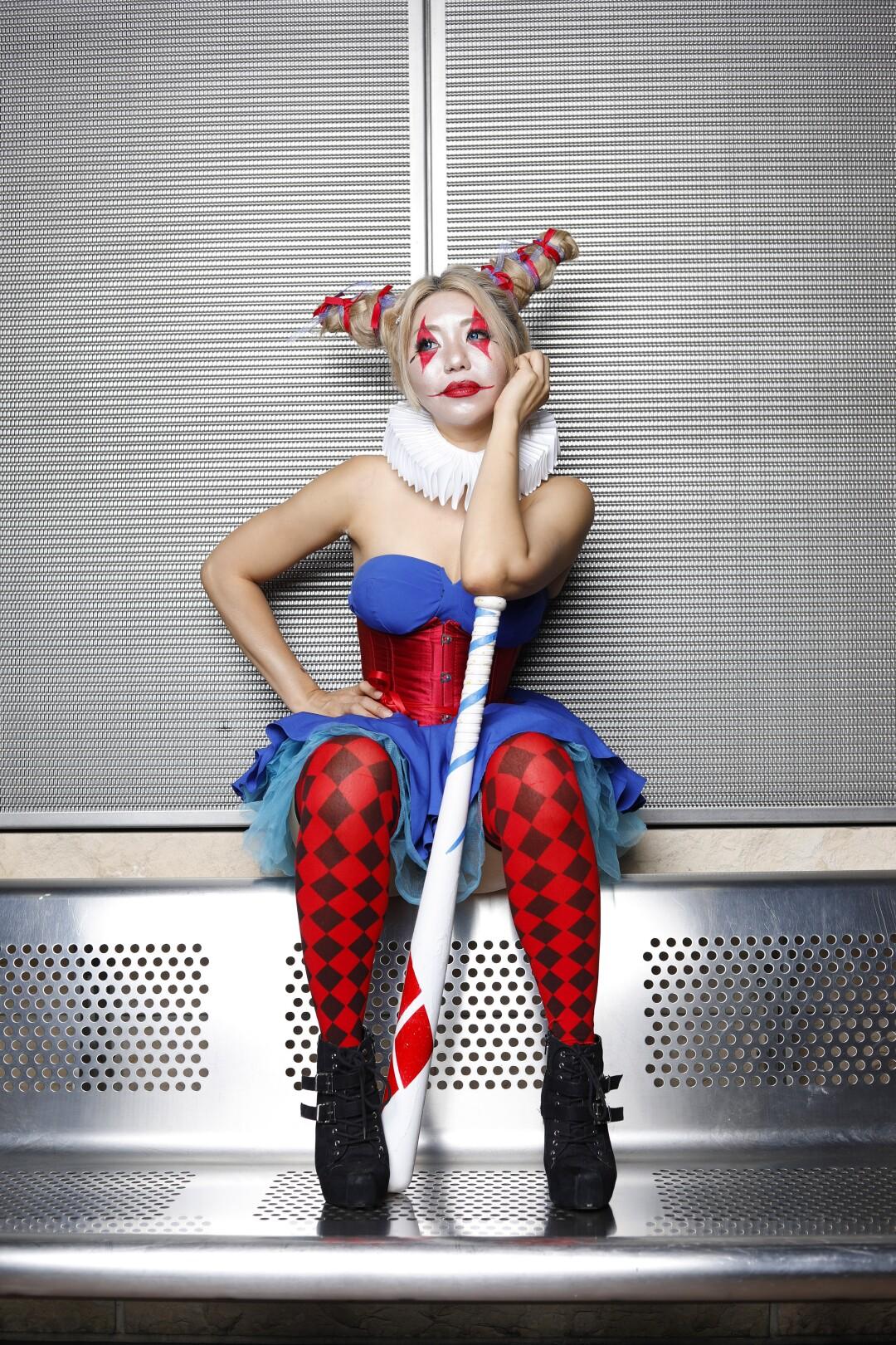 Tita Ghanjanasak dressed as Harley Quinn