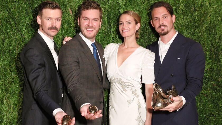 Bicoastal Brock Collection Wins The 2016 Cfda Vogue Fashion Fund Award Los Angeles Times