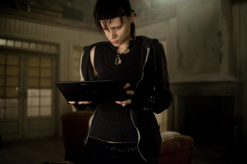 "Rooney Mara stars in Columbia Pictures' ""The Girl With the Dragon Tattoo,"" also starring Daniel Craig. Photo: Merrick Morton"
