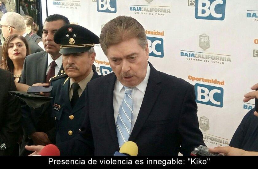 "Presencia de violencia es innegable: ""Kiko"""