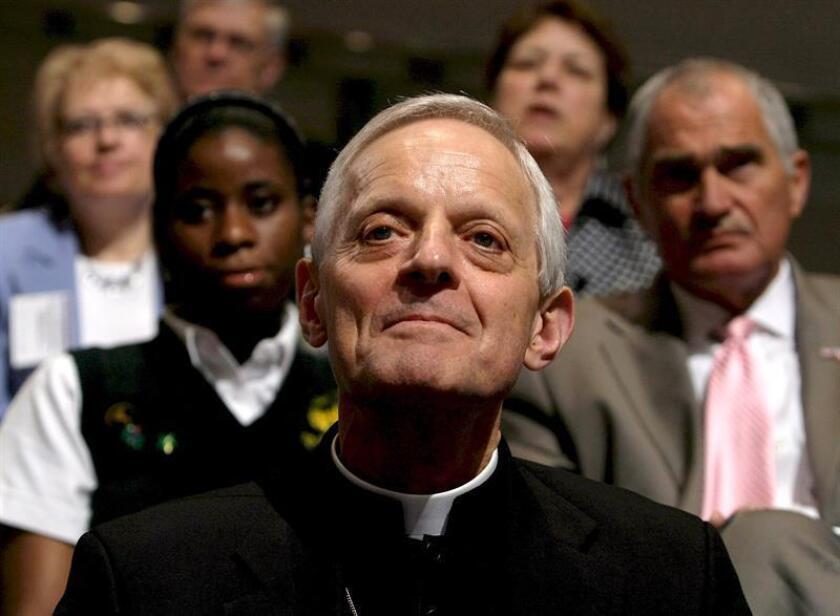 El listado se publica tres días después de que el cardenal Donald Wuerl renunciara a su puesto como arzobispo de Washington. EFE/Archivo