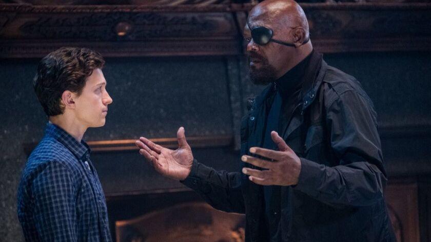 Spider-Man team spills secrets of 'Far From Home' post