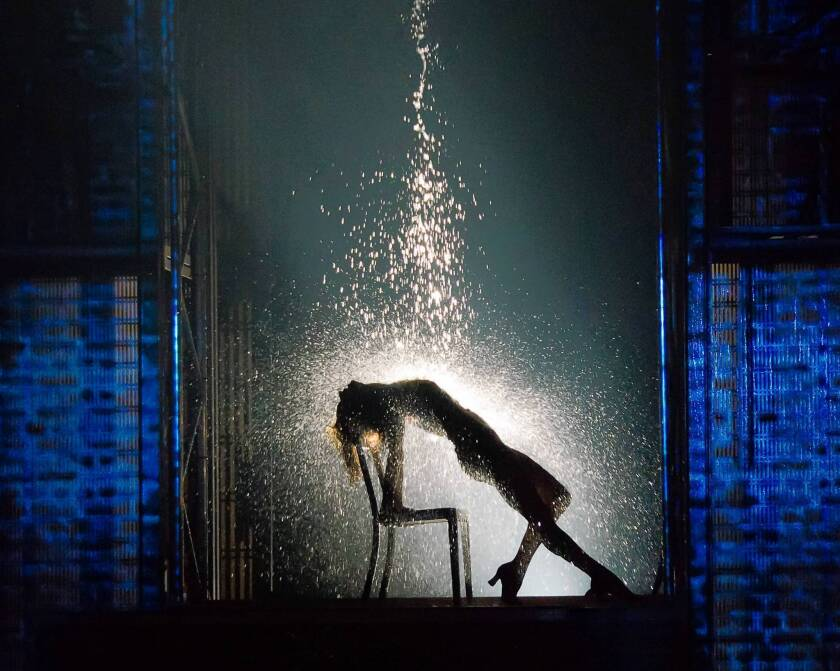 """Emily Padgett as Alex Owens in """"Flashdance, the Musical."""""""