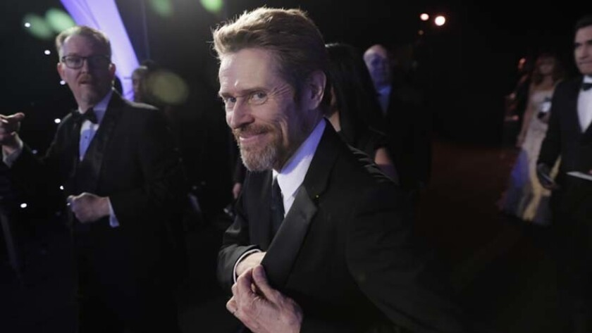 Willem Dafoe at the Screen Actors Guild Awards on Jan. 21.