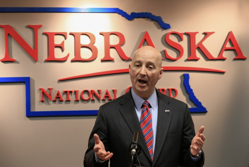 Nebraska Gov. Pete Ricketts sent a letter this week to refugee resettlement agencies in the state, urging them not to pursue resettlement of Syrian refugees.