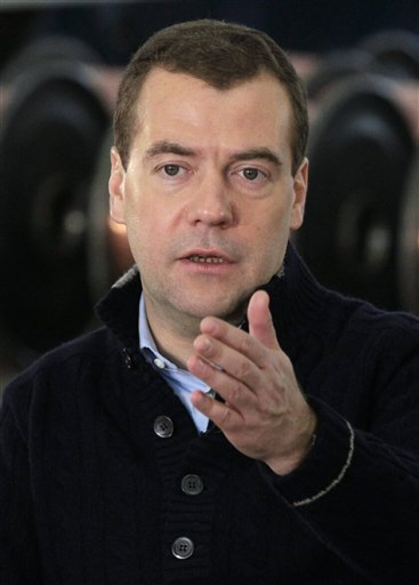 Russia's Medvedev vows to boost Arctic exploration - The San