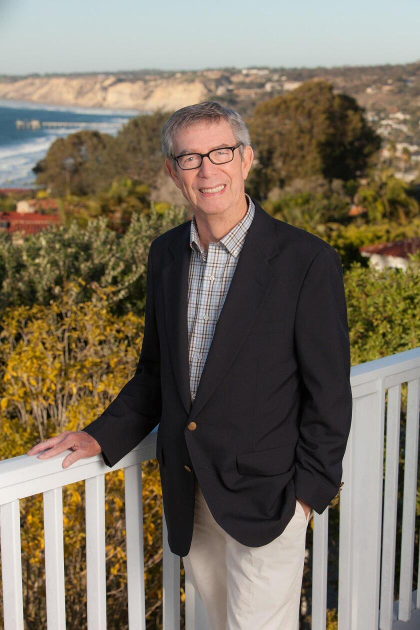 Career coach and La Jolla resident Kent Porter says his greatest accomplishment is seeing people learn to cope with all kinds of circumstances.