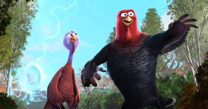 Review: 'Free Birds' lays an egg