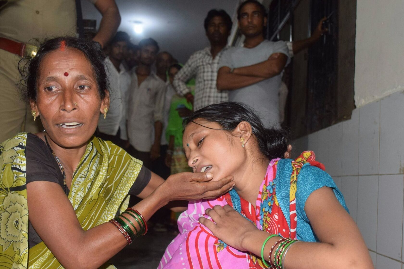 35 children in Indian hospital in 3 days parents blame