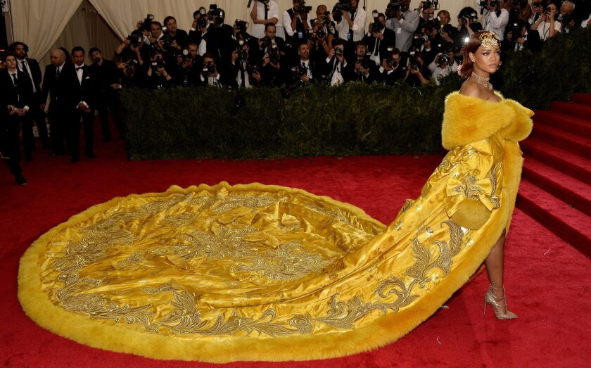 Rihanna at the Met Gala