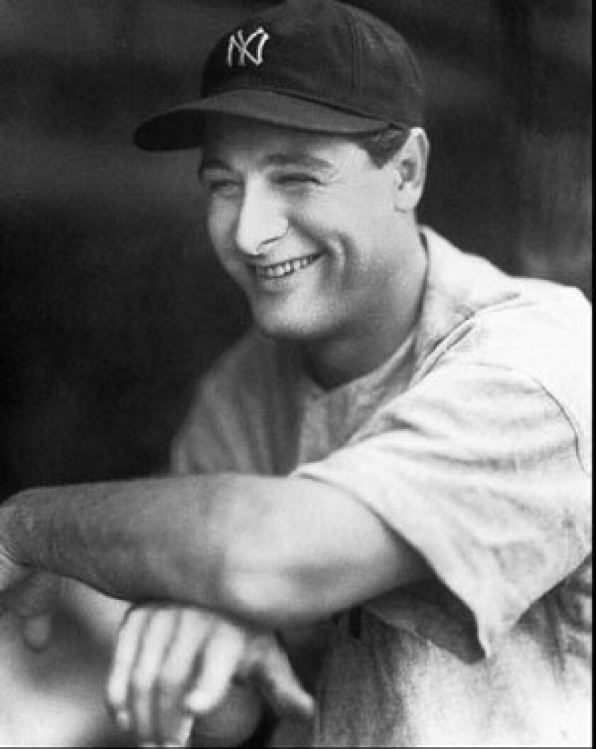 Before joining the Yankees, Lou Gehrig was the star player for Columbia.