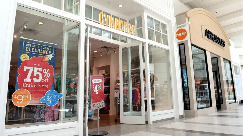 f4e875efb Gymboree, Crazy 8 chains to shut down after retailer files for ...