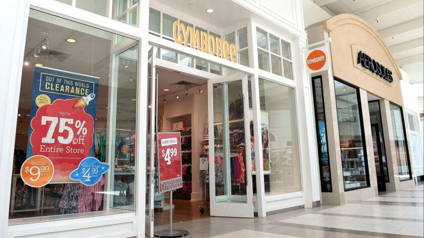 MANHATTAN BEACH-CA-JUNE 12, 2017: A Gymboree store in Manhattan Beach. (Christina House / For The Ti