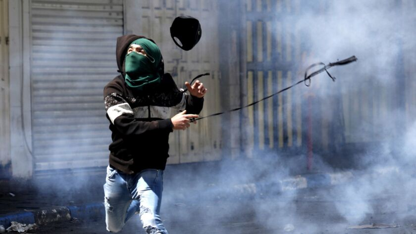 Clashes in Hebron, --- - 31 Mar 2018