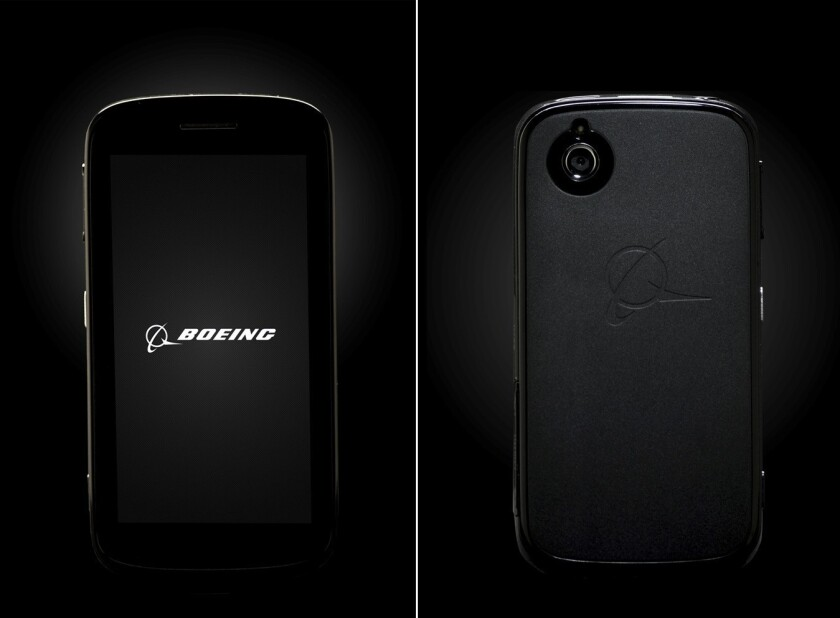 The Boeing Black smartphone was designed for defense and security communities.