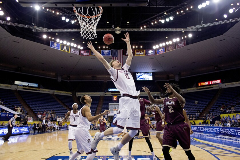 Arkansas Little Rock defeats Louisiana Monroe, 70-50, in Sun Belt championship