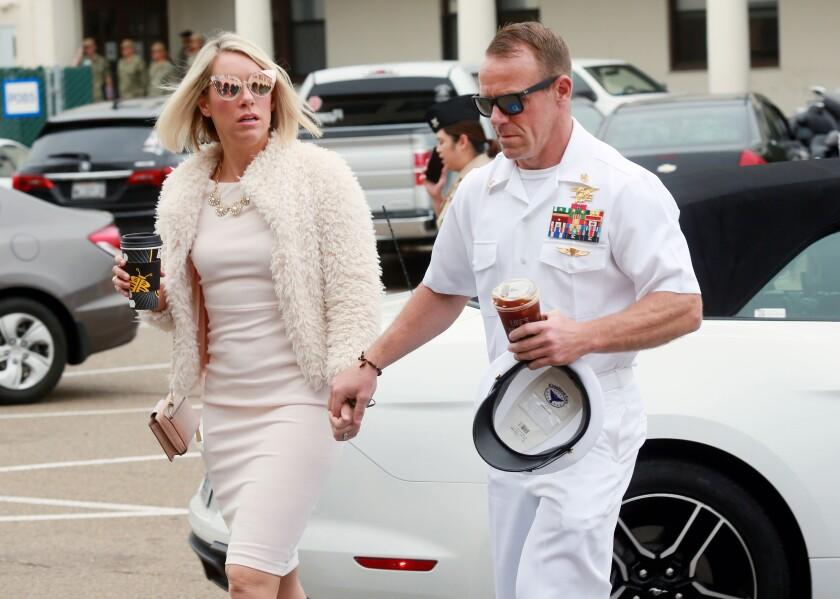 *** BESTPIX *** Military Trial Of Navy SEAL Eddie Gallagher Enters Second Week