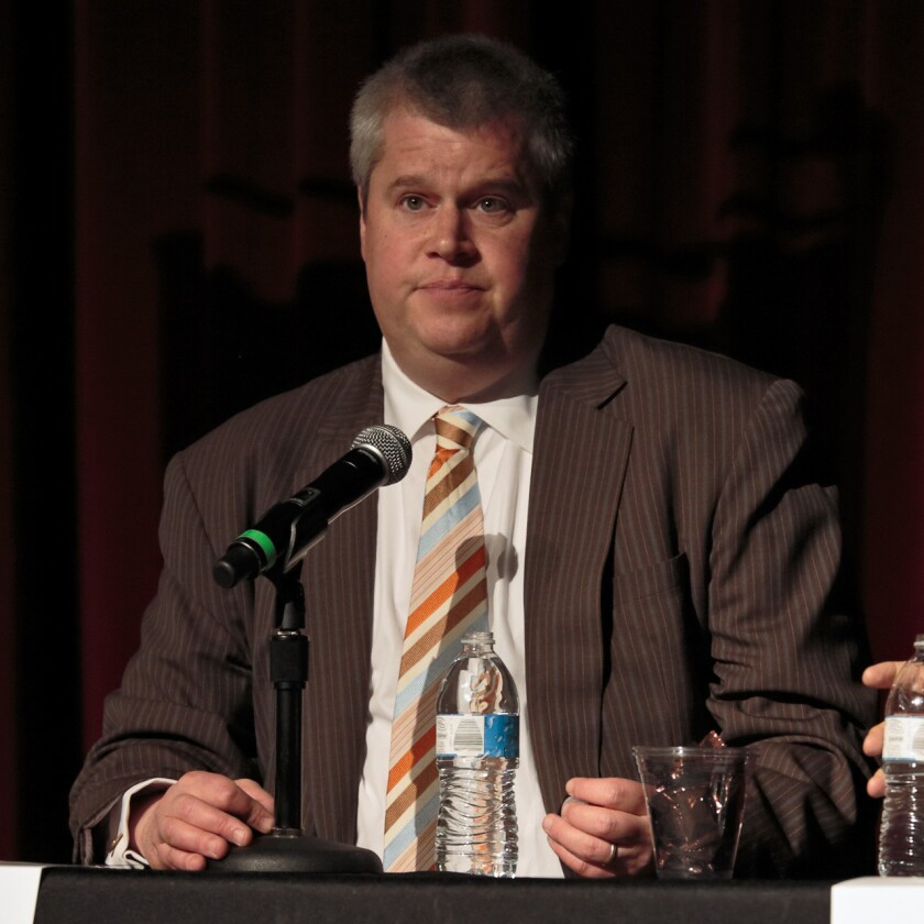 """""""Never live your life in such a way that you have to regret anything,"""" Daniel Handler, a.k.a. Lemony Snicket, told the audience at Sunday's Festival of Books. """"That's sound."""""""