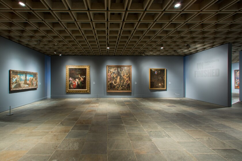 """The site no longer has """"over-packed galleries,"""" Christopher Hawthorne says."""