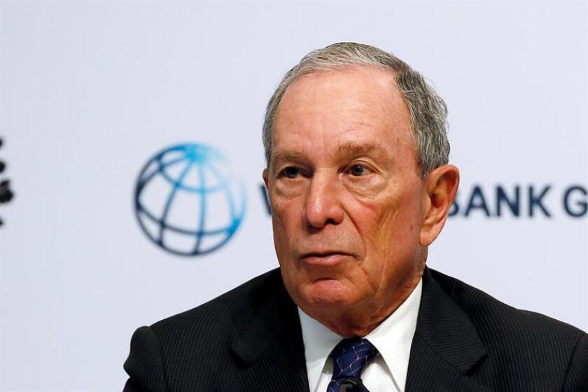 Bloomberg se inclina por ser rival demócrata de Trump para elecciones de 2020
