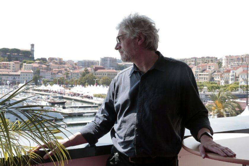 """Michael Dudok de Wit, director of the animated feature """"The Red Turtle"""" showing at the Cannes Film Festival."""