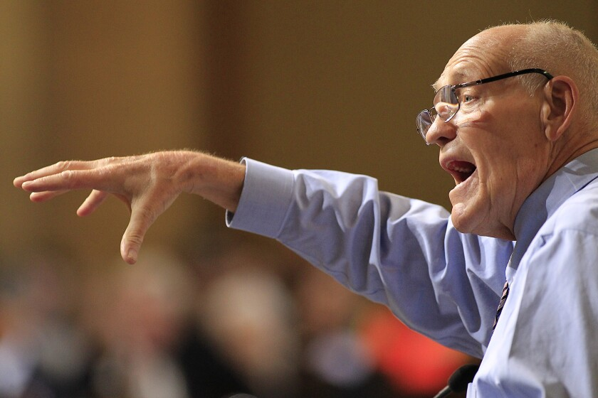 Former Los Angeles City Councilman Bill Rosendahl died Wednesday morning after a battle with cancer.