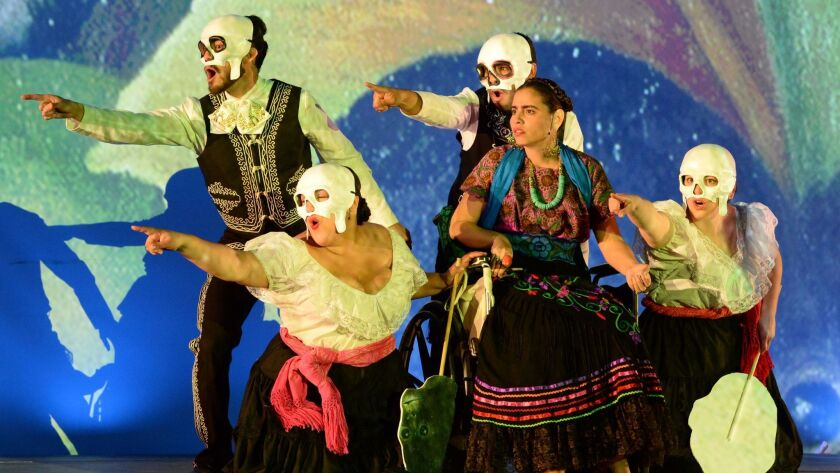 """The Long Beach Opera is staging """"Frida,"""" devoted to the life of the Mexican painter Frida Kahlo."""