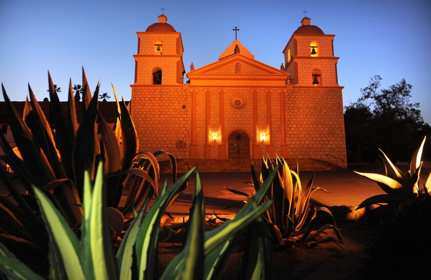 Vandals decapitated a statue of St. Junipero Serra and poured red paint on it this week at the Old Mission Santa Barbara.