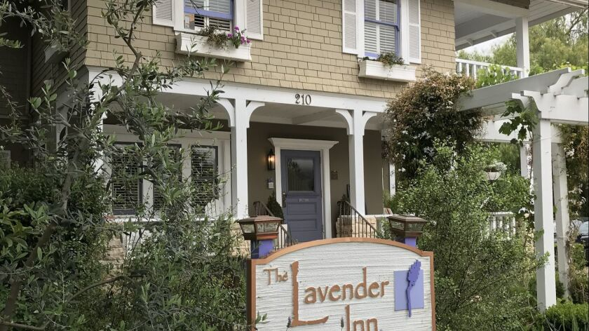 The Lavender Inn in Ojai has seven comfortable rooms and a gorgeous garden.