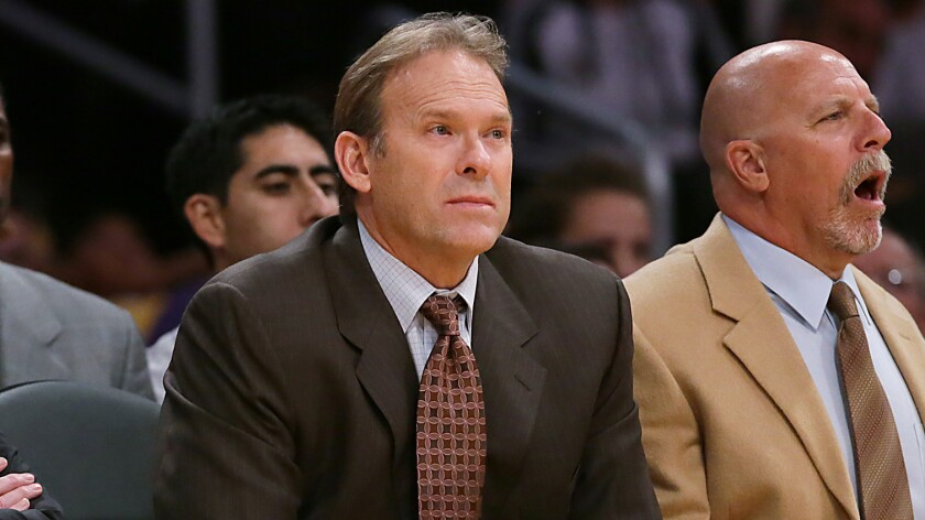 Former Lakers assistant coach Kurt Rambis has interviewed for the team's vacant head coaching position.