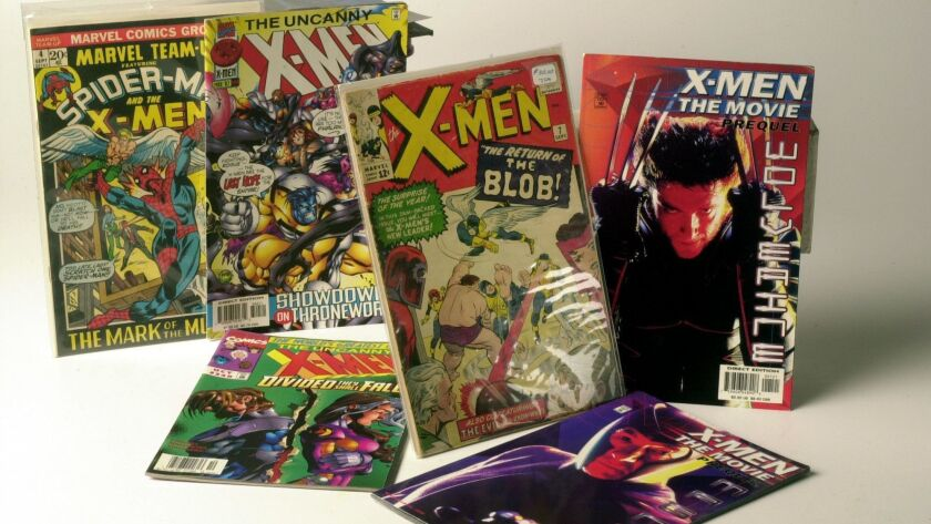 X–Men comic books new and old