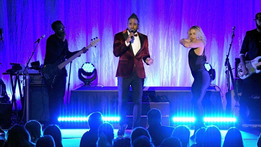 Jason Derulo performs during An Unforgettable Evening.