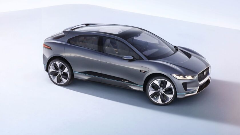 Jaguar I-PACE electric SUV concept