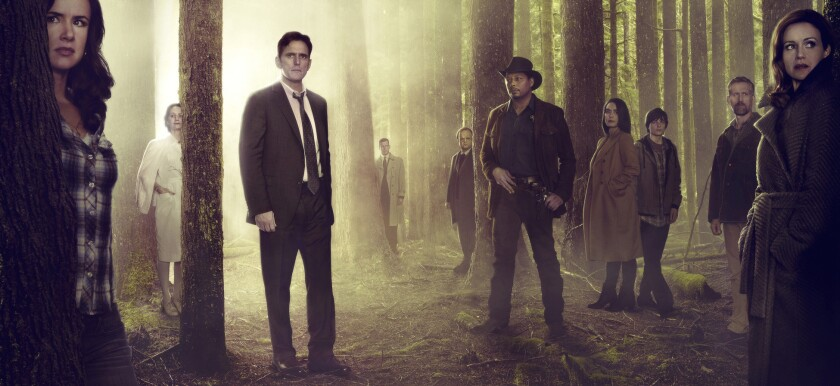 "Based on a bestselling novel and brought to life by M. Night Shyamalan, ""Wayward Pines"" is a 10-episode thriller starring Academy Award nominee Matt Dillon (""Crash"") as a Secret Service agent on a mission to find two missing federal agents in Wayward Pines, Idaho."
