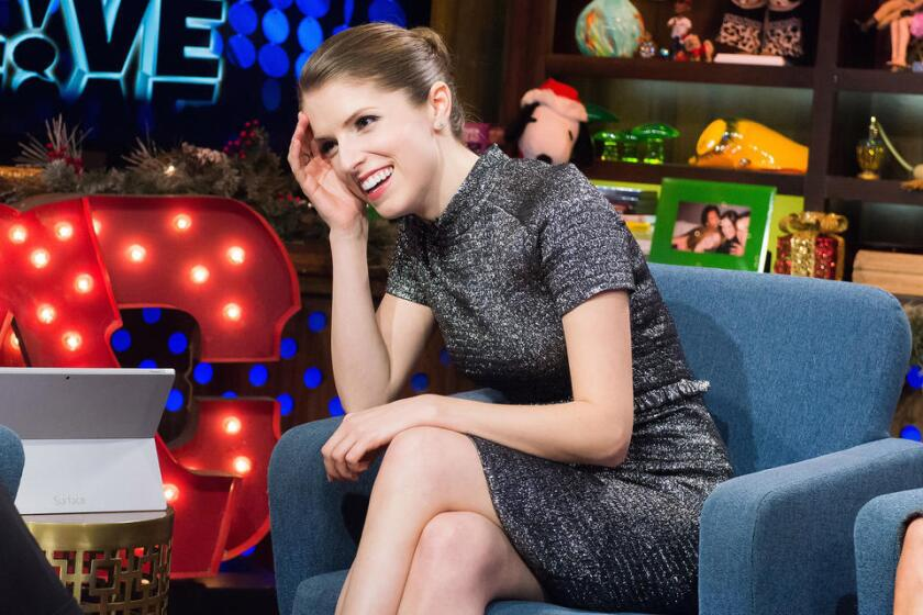 """Anna Kendrick of """"Into the Woods"""" appears on Bravo's """"Watch What Happens Live."""""""