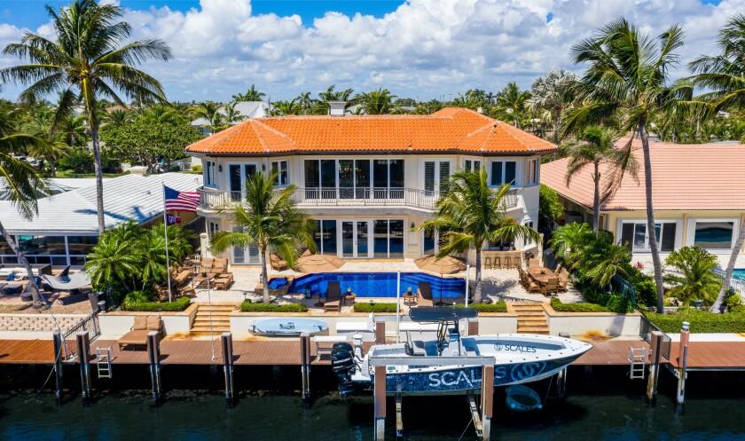 Clinton Portis's former Florida home