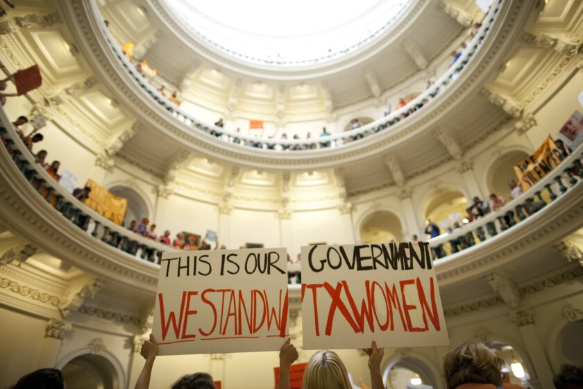 Supreme Court Texas abortion restrictions